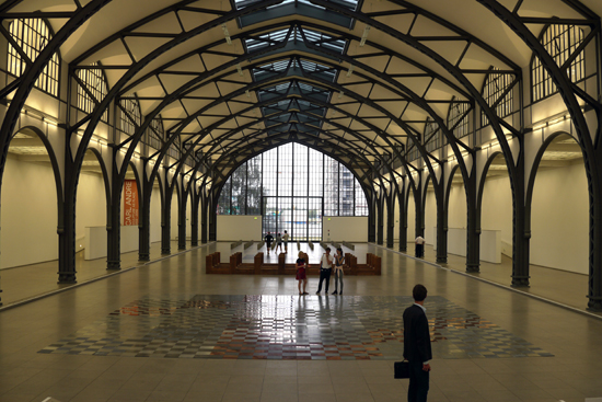 ベルリン・ハンブルグ駅美術館