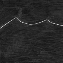 「無題 (SC 08-2012 qu)」 O.T. (SC 08-2012 qu) 2012, 29,7 x 21 cm, 紙に鉛筆 Graphit auf Papier