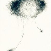 「無題 (SC 05-2013)」 O.T. (SC 05-2013) 2013, 29,7 x 21 cm, 紙に鉛筆 Graphit auf Papier