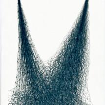 「無題 (SC 09-2013)」 O.T. (SC 09-2013) 2013, 29,7 x 21 cm, 紙に鉛筆 Graphit auf Papier