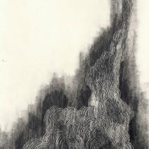 drawing 04 / ドローイング 0904, 2013, 29.7×21.0 cm, Graphite on paper / 紙に鉛筆, photo: Takayuki Daikoku