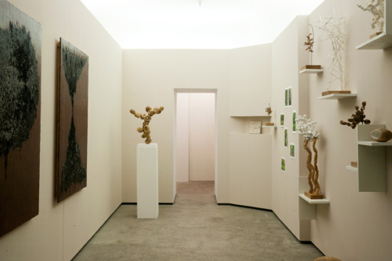 3×SOLO exhibition view by Semjon Contemporary Berlin 2016 photo:Takayuki Daikoku
