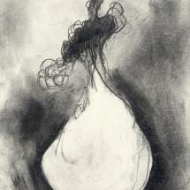drawing 02 / ドローイング 02, 2016, 29.7×21.0 cm, Graphite on paper / 紙に鉛筆, photo: Takayuki Daikoku