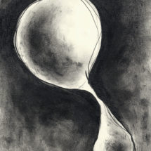 drawing 12 / ドローイング 12, 2016, 29.7×21.0 cm, Graphite on paper / 紙に鉛筆, photo: Takayuki Daikoku