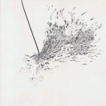 2016, 29.7×21.0 cm, Graphite on paper / 紙に鉛筆, photo: Takayuki Daikoku