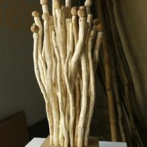 連綿 -Ohne Ende Nr.1- H47×W17×D13(cm) 木 holz 2012