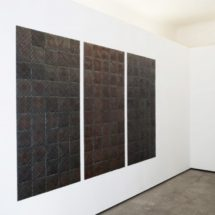 "view of ""Folded Drawings"" by Semjon Contemporary in Berlin photo:Lukas Heibges"