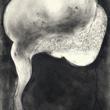 O.T. (10-2016) , 2016, 29.7×21.0 cm, Graphite on paper photo: Takayuki Daikoku