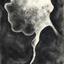 O.T. (17-2016) , 2016, 29.7×21.0 cm, Graphite on paper photo: Takayuki Daikoku