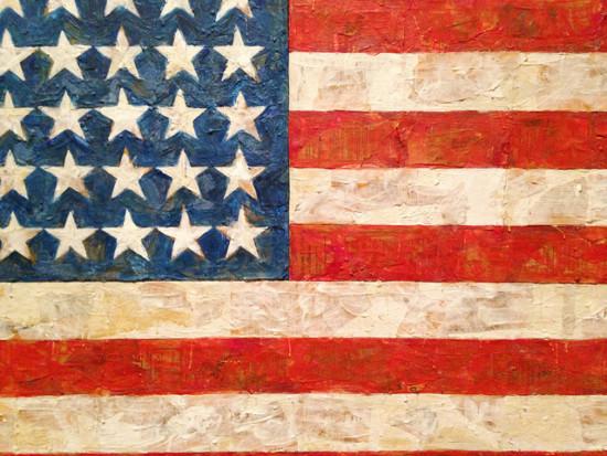 ジャスパー・ジョーンズの旗